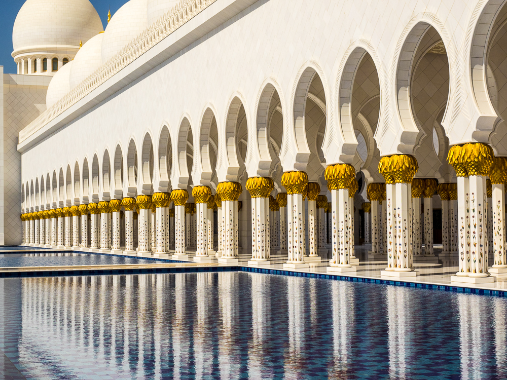 Abu Dhabi Grand Mosche