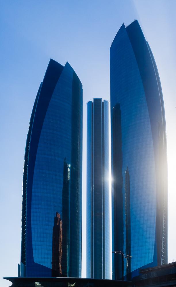 Abu Dhabi Ethiad Towers